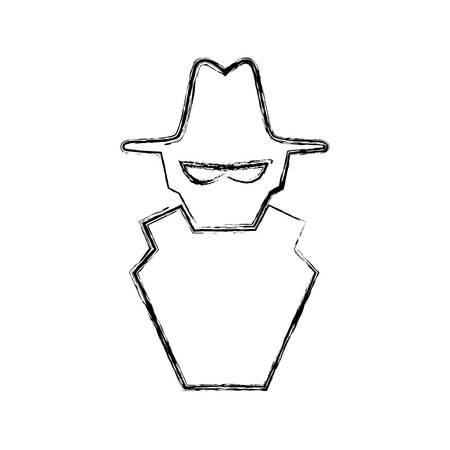 malware spyware symbol vector icon illustration graphic design