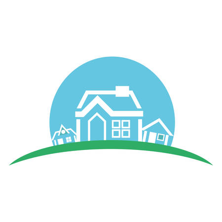 house line icon image vector illustration design Illustration