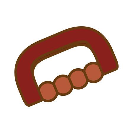 massage accessory icon image vector illustration design Illustration
