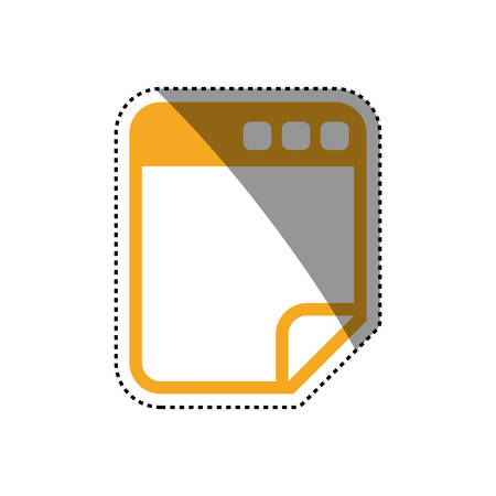 Browser web interface icon vector illustration graphic design Illustration