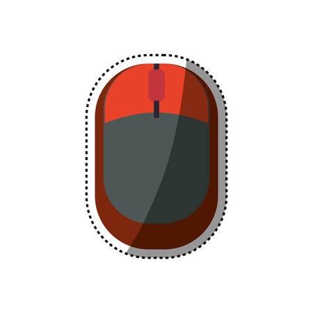 Mouse computer device icon vector illustration graphic design Reklamní fotografie - 75381332