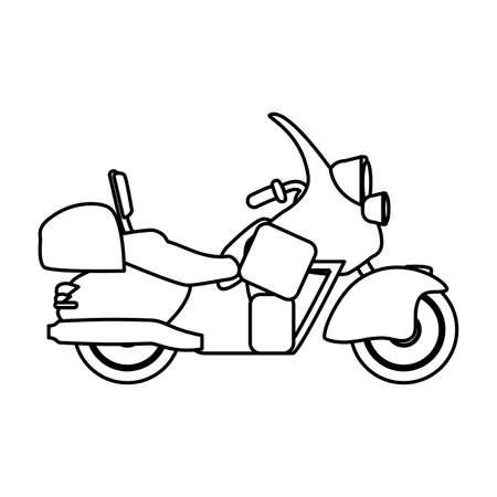 Teil Motorrad, Hat Eine Vorlage Für Ihr Logo, Vintage-Effekt ...
