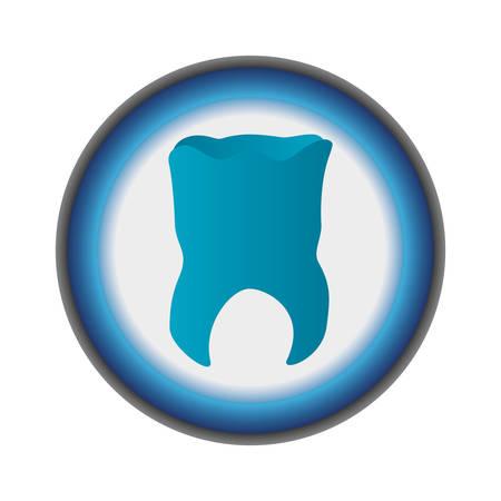 Medical dental care icon vector illustration graphic design