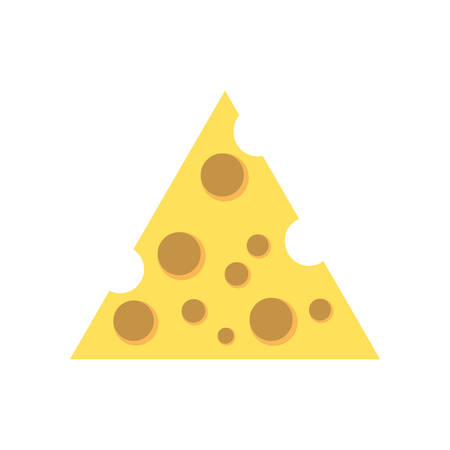 ground beef: cheese food delicious image vector illustration eps 10 Illustration