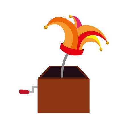 pranks: April fools day icon vector illustration graphic design Illustration