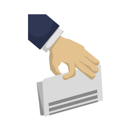 Business finance report icon vector illustration graphic design