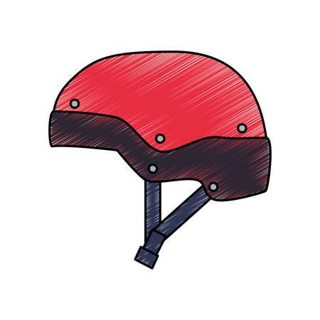 Snowboard sport equipment icon vector illustration graphic design