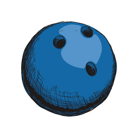 spare: Bowling sport game icon vector illustration graphic design
