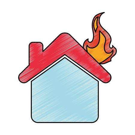 Home insurance symbol icon vector illustration graphic design