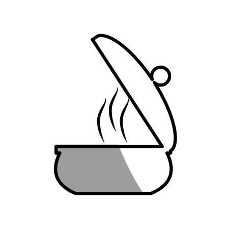 saucepan pot cooking picnic shadow