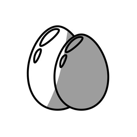egg food fresh breakfast Illustration