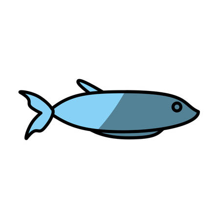 fish fresh food picnic shadow Illustration