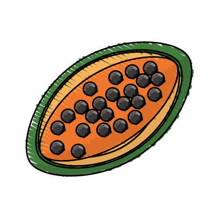 papaya tasty fruit fresh