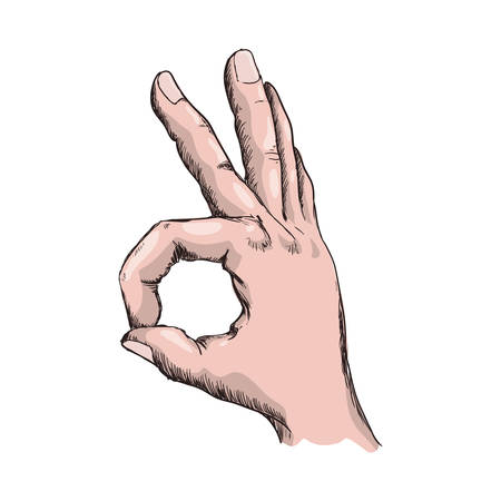 Hand gesturing symbol icon vector illustration graphic design