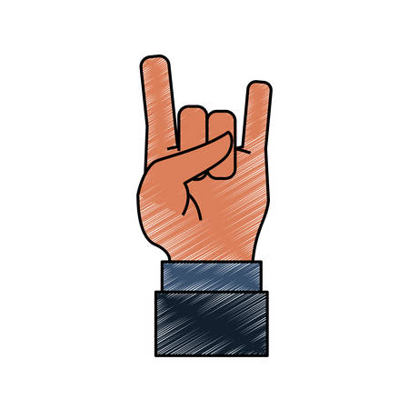 Hand gesturing symbol icon vector illustration graphic design