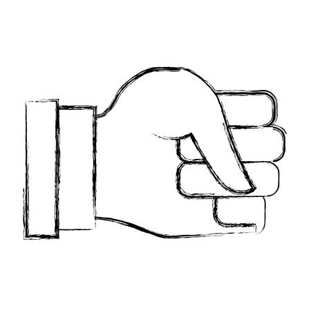forefinger: Hand gesturing symbol icon vector illustration graphic design