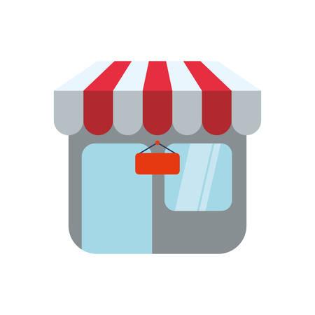 Shop-Shop Symbol Symbol Vektor-Illustration Grafik-Design