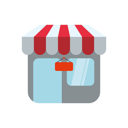 Shop store symbol icon vector illustration graphic design