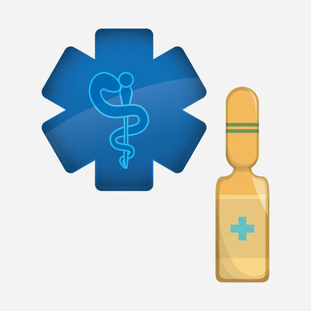 Medical care  concept with icon design