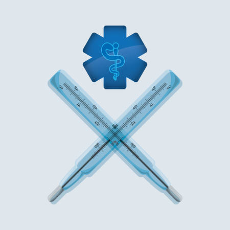 Medical care  concept with icon design, vector illustration 10 eps graphic. Illustration