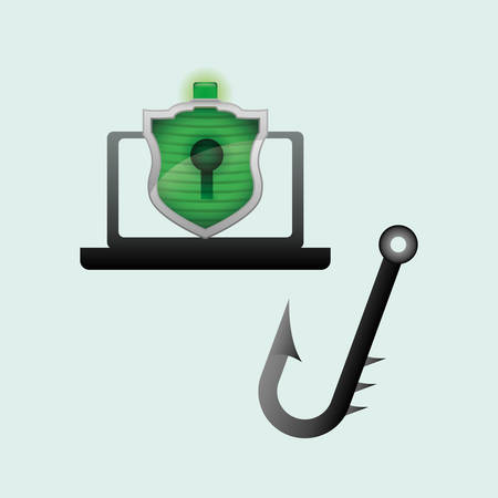 lcd: Security System  concept with icon design, vector illustration 10 eps graphic.