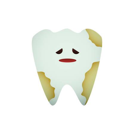 orthodontist: Dental care cartoon icon vector illustration graphic design