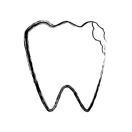 orthodontist: Medical dental care icon vector illustration graphic design
