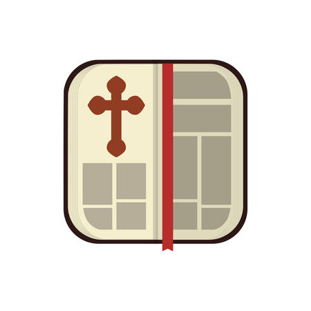 testament: Holy bible christianity symbol icon vector illustration graphic design