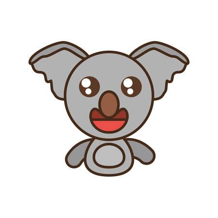 koala baby animal kawaii design vector illustration eps 10 Illustration