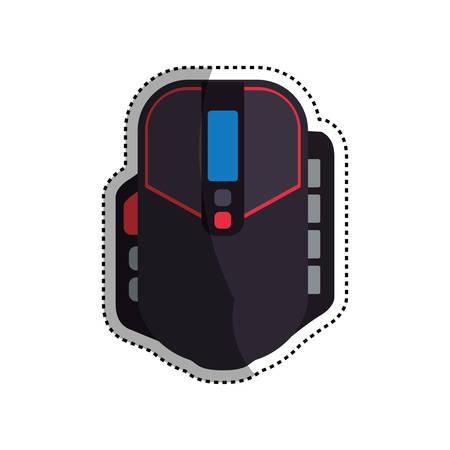 mouse: Console gamepad device icon icon vector illustration graphic design