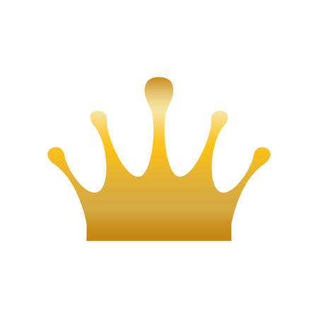 Crown royalty symbol icon vector illustration graphic design