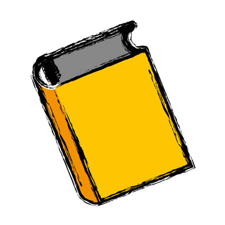 literature: Book icon over white background. vector illustration Illustration