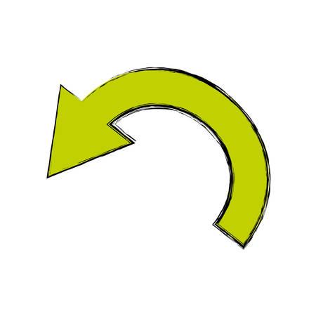 Arrow cursor symbol icon vector illustration graphic design