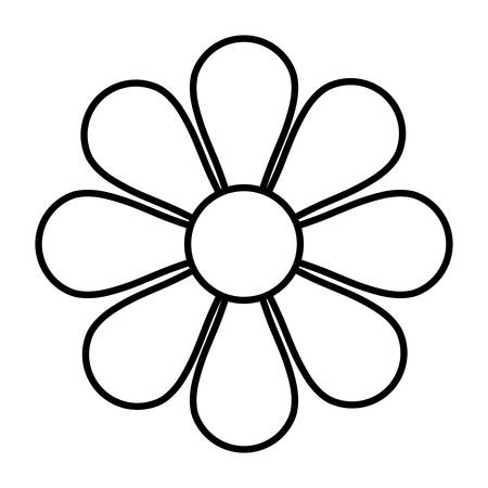 花の花フラット アイコン ベクトル イラスト デザイン