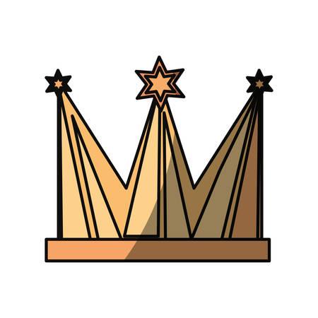 Celebration party hat icon vector illustration graphic design Illustration