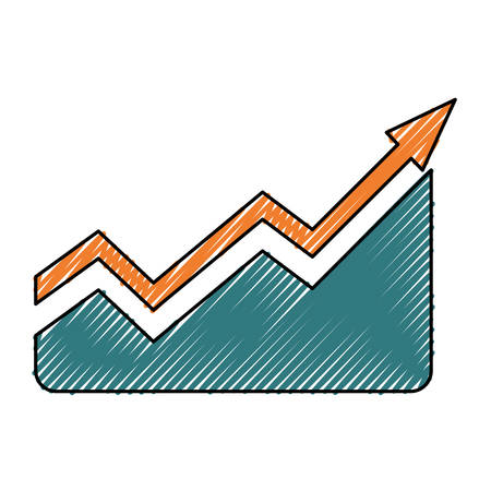 investment concept: Arrow up increase