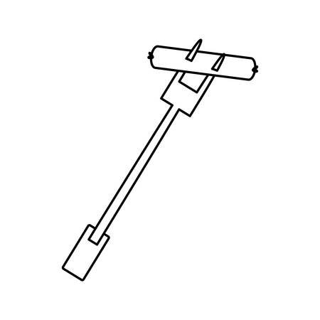 Rodizio bbq meat icon vector illustration graphic design Ilustração