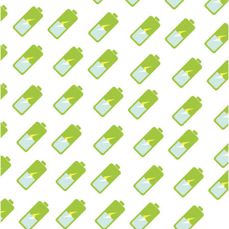 Battery electric energy icon vector illustration graphic design