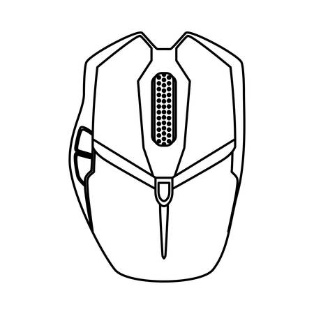 Mouse computer device icon vector illustration graphic design Ilustrace