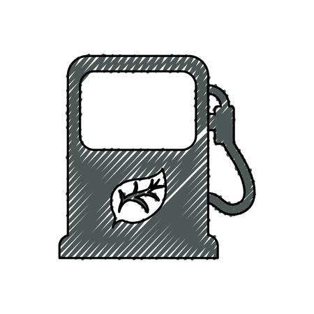 energy station eco vector icon illustration graphic design Illustration