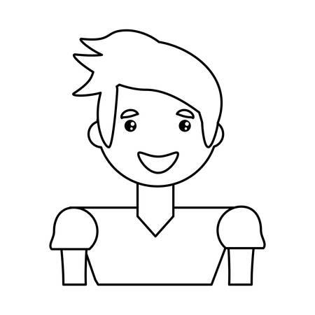 adult male avatar vector icon illustration design