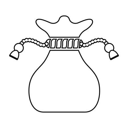 big bag illustration icon vector illustration graphic design