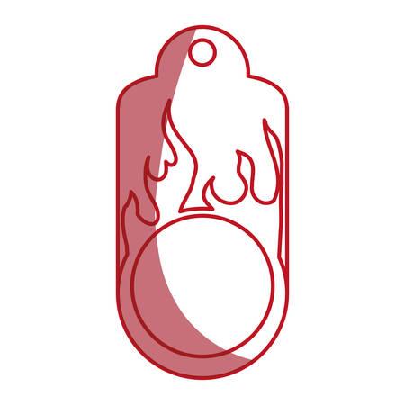 Shopping tag label icon vector illustration graphic design