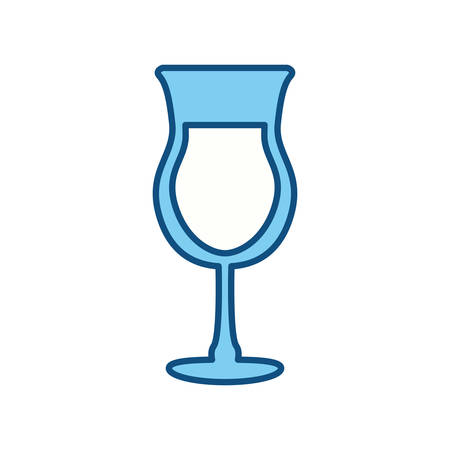wite: Delicious cocktail drink icon vector illustration graphic design Illustration