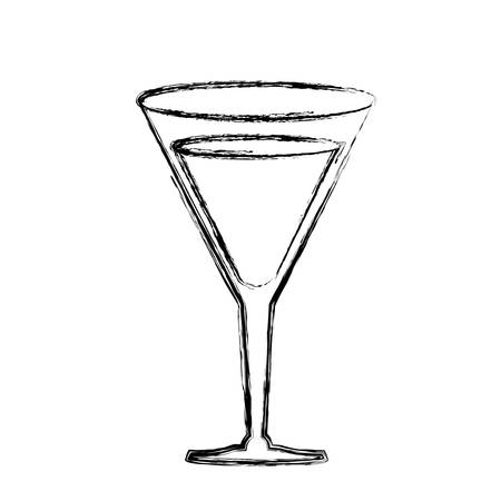 Delicious cocktail drink icon vector illustration graphic design Illustration