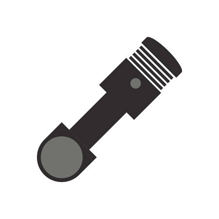 shock absorber: shock absorber object vector icon illustration graphic design