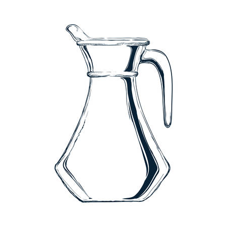 Glass jar sketch icon vector illustration graphic design