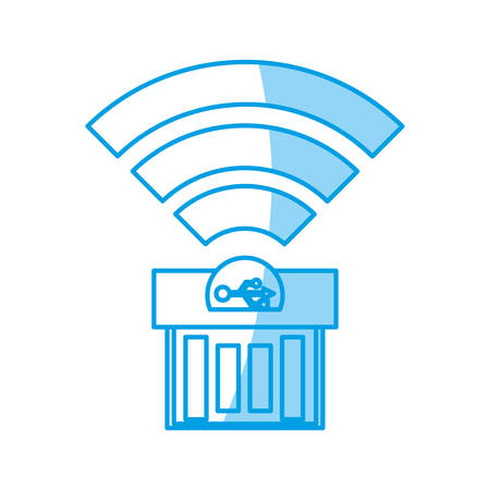 USB Storage technology icon vector ilustration Illustration