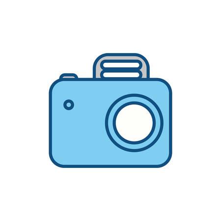 slhouette: slhouette camera symbol icon design, vector illustration