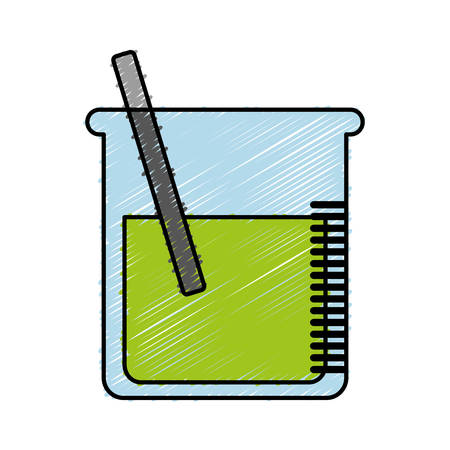 poison bottle: chemical container icon over white background. colorful design.  vector illustration